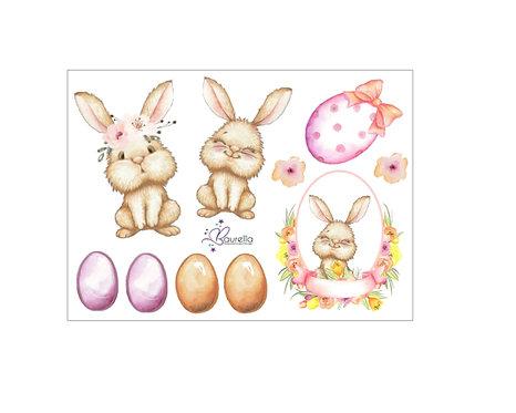 Stickerbogen Ostern 2