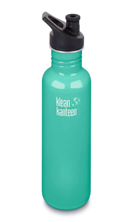 Klean Kanteen Classic Sport 800ml Sea Crest - Mint