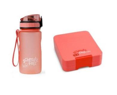 Znünibox und Trinkflasche, Znünibox personalisiert, Znünibox Kinder, Trinkflasche Kinder personalisiert, Schmatzfatz