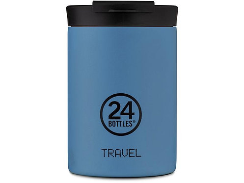24Bottles Thermobecher Travel Tumbler 350 ml Powder Blue