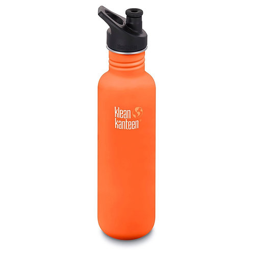 Klean Kanteen Classic Sport 800ml Sierra Sunset - Orange