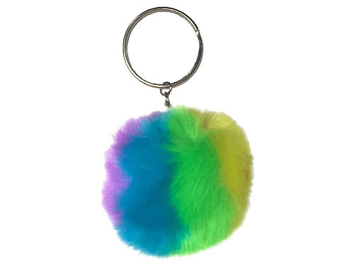Schlüsselanhänger Fluffy Neon