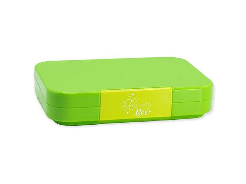 Znünibox grün, Lunchbox grün, Znünibox personalisert, Lunchbox personalisiert, für Kinder, für Schule, leicht, grün, kaufen