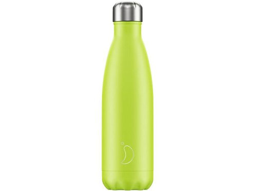 Chilly's 500ml Trinkflasche Lemon-Lime Limited Edition
