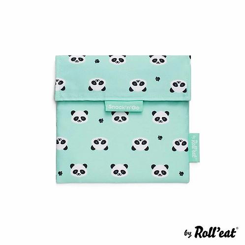 Roll'eat - Snack'n' Go DUO Lunchbag Kids Panda