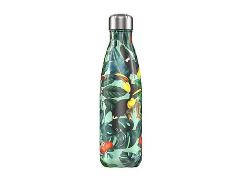 Chilly's 500ml Trinkflasche Tropical Toucan
