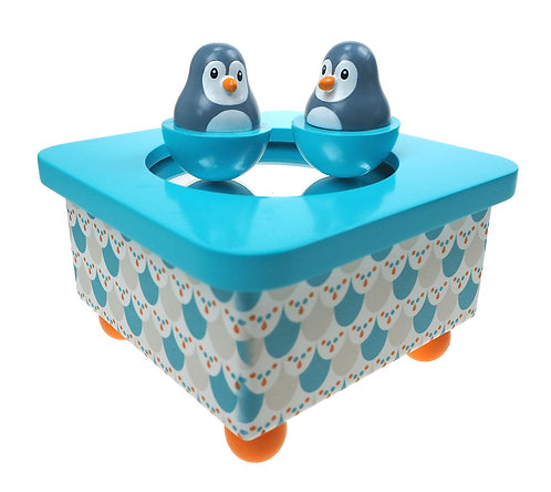 Idis Musikdose Pinguin