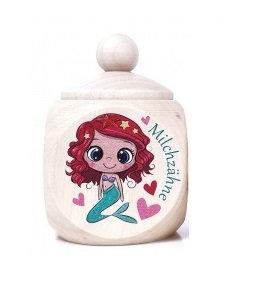 Milchzahndose Meerjungfrau,Mädchen,  Milchzahndose kaufen, Milchzahndose personalisiert, Milchzahndose