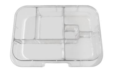 Munchbox Inlay Klar Neon mit 4 Unterteilungen
