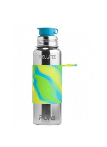 Pura Sport Isolierflasche 650ml AquaSwirl