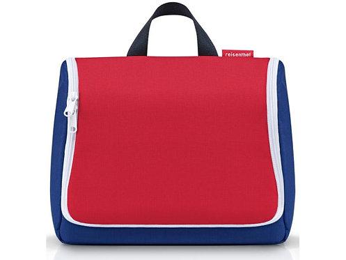 Tonieboxtasche mit Unterteilungen Blau/Rot