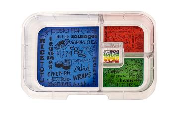 Munchbox Inlay mit 4 Unterteilungen