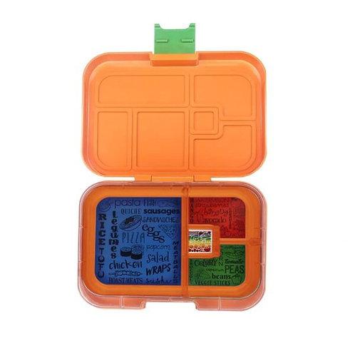 Znünibox orange, Znünibox Arbeit, Znünibox Ausflug, Znünibox Schule, Lunchbox kaufen, Znünibox kaufen, personalisiert
