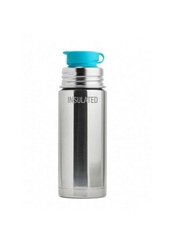 Pura Sport Isolierflasche 260ml Silber ohne Überzug