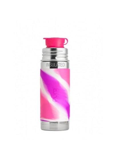 Pura Sport Isolierflasche 260ml PinkSwirl