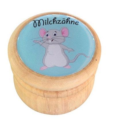 Milchzahndose Maus, Milchzahndose kaufen, Milchzahndose personalisiert, Milchzahndose