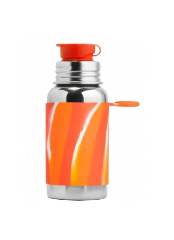 Pura Sportflasche 550ml OrangeSwirl