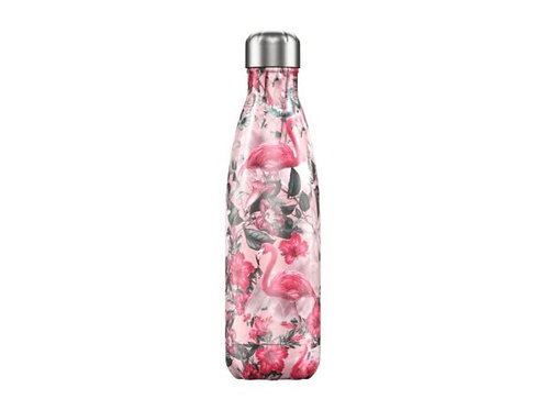 Chilly's 500ml Trinkflasche Tropical Flamingo
