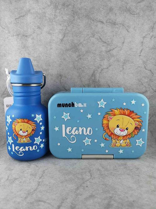 SET Munchbox Munchi Snack und Klean Kanteen Sippy