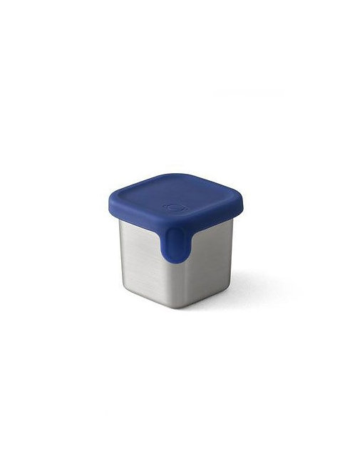 PlanetBox Shuttle/ Launch Little Square Dipper mit Silikondeckel Navy
