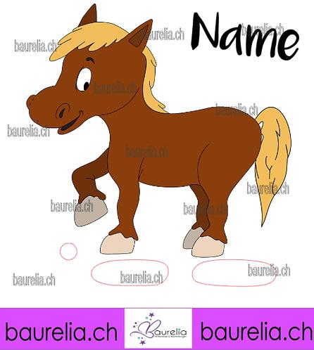 Schutzfolie Toniebox Pferd 1