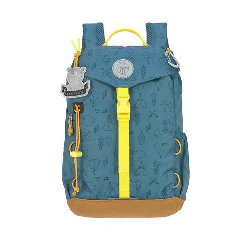 Lässig Kindergartenrucksack MINI Outdoor - Mini Backpack, Adventure Blue