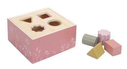 Little Dutch Holz Formen Steckspiel Rosa