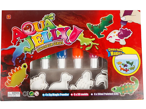 Bastelset - Aqua Gel Figuren Dino