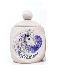 Milchzahndose Einhorn, Milchzahndose kaufen, Milchzahndose personalisiert, Milchzahndose