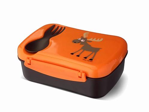 Carl Oscar, Carl Oscar Znünibox, Carl Oscar Lunchbox, Carl Oscar personalisiert, Znünibox kaufen, Lunchbox kaufen,orange