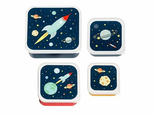 ALLC Lunchbox Space 4er Set