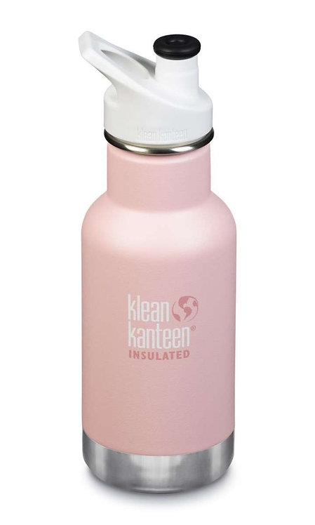 Klean Kanteen 12oz Kid Thermotrinkflasche 355ml Ballet Slipper - Rosa