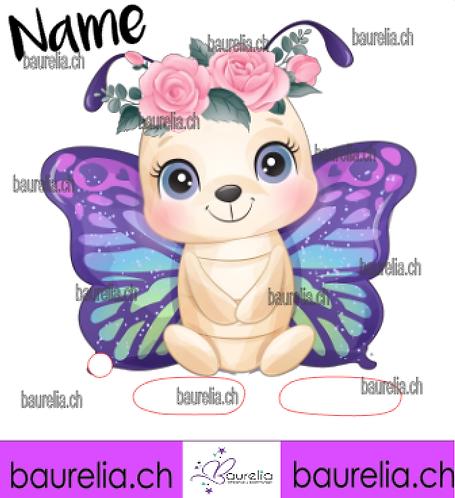 Schutzfolie Toniebox Schmetterling 19