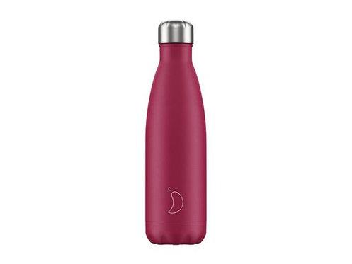 Chilly's 500ml Trinkflasche Matt Pink