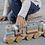 Thumbnail: Little Dutch Holz-Eisenbahn mit Steckformen Color