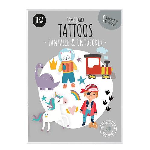 Jeka Tattoos Fantasie & Entdecker
