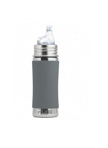 Pura Trinklernflasche 325ml Grau