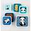 Thumbnail: ALLC Lunchbox Panda 4er Set