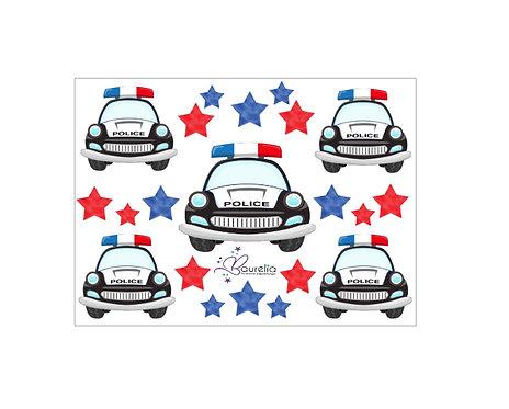 Stickerbogen Polizei 2