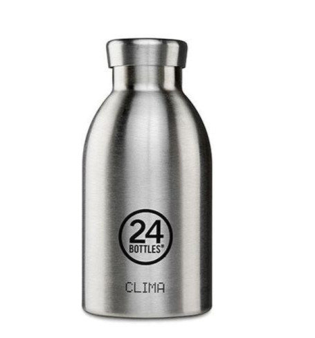 24Bottles Thermosflasche Clima 330 ml Steel
