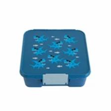 Little Lunch Box Co. – Haifisch mit 5 Unterteilungen