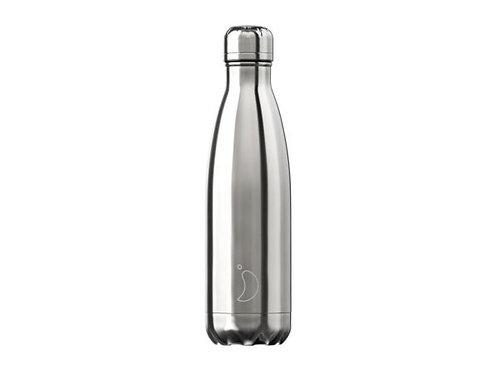 Chilly's 500ml Trinkflasche Chrome Silber