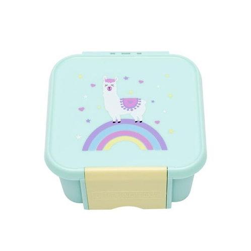 Little Lunch Box kaufen, Little Lunch Box personalisiert, Znünibox leicht, Lunchbox leicht, Znünibox personalisiert,mint,lama