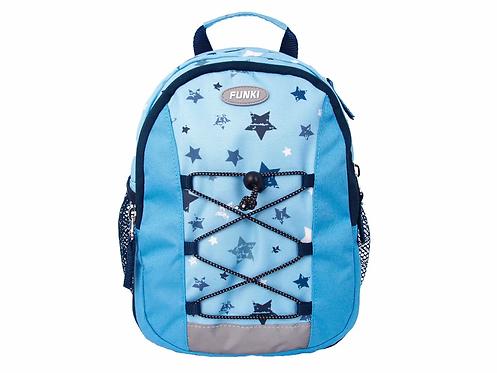 Funki Kindergartenrucksack Blue Star