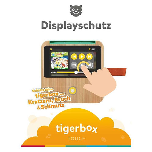 Displayschutz für tigerbox TOUCH