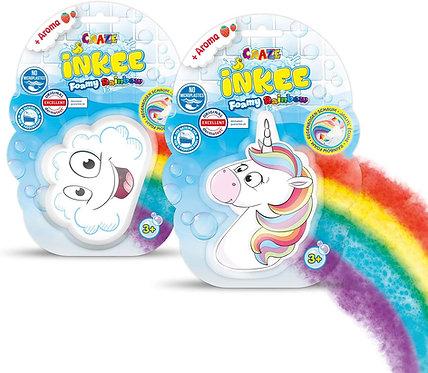 CRAZE Inkee Foamy Rainbow Badebombe