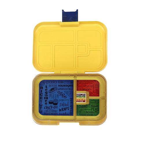 Znünibox gelb, Znünibox Arbeit, Znünibox Ausflug, Znünibox Schule, Lunchbox kaufen, Znünibox kaufen, personalisiert