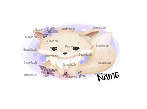 Znünibox Sticker Fuchs 15