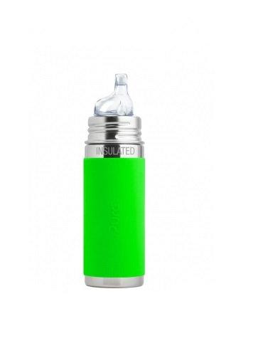 Pura Trinklern Isolierflasche 260ml Grün