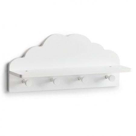Kinder-Wandgarderobe Wolke